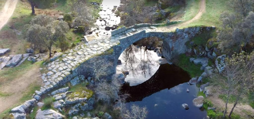 Puente sobre el río Tiétar en La Iglesuela